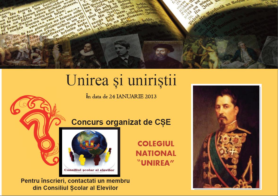 Unirea şi uniriştii