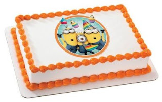 despicable me 2 minion birthday cake
