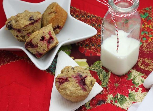 how to make cranberry walnut muffins