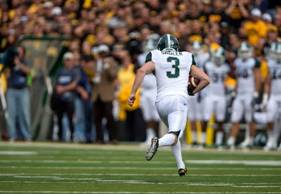 Michigan State fools Iowa with Hey Diddle Diddle fake punt.