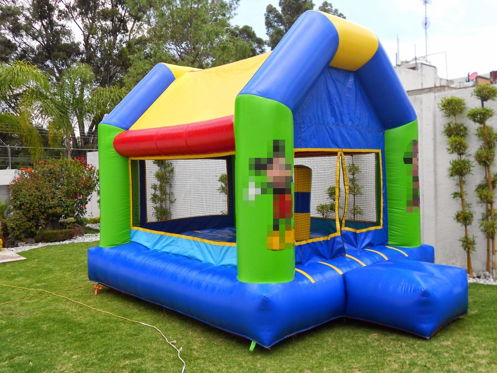 Renta de Inflables para fiestas infantiles en Puebla.