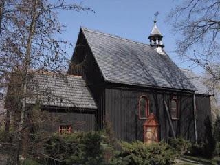 Rechta kościół św. Barbary i Zesłania Ducha Świętego z 1753 r.
