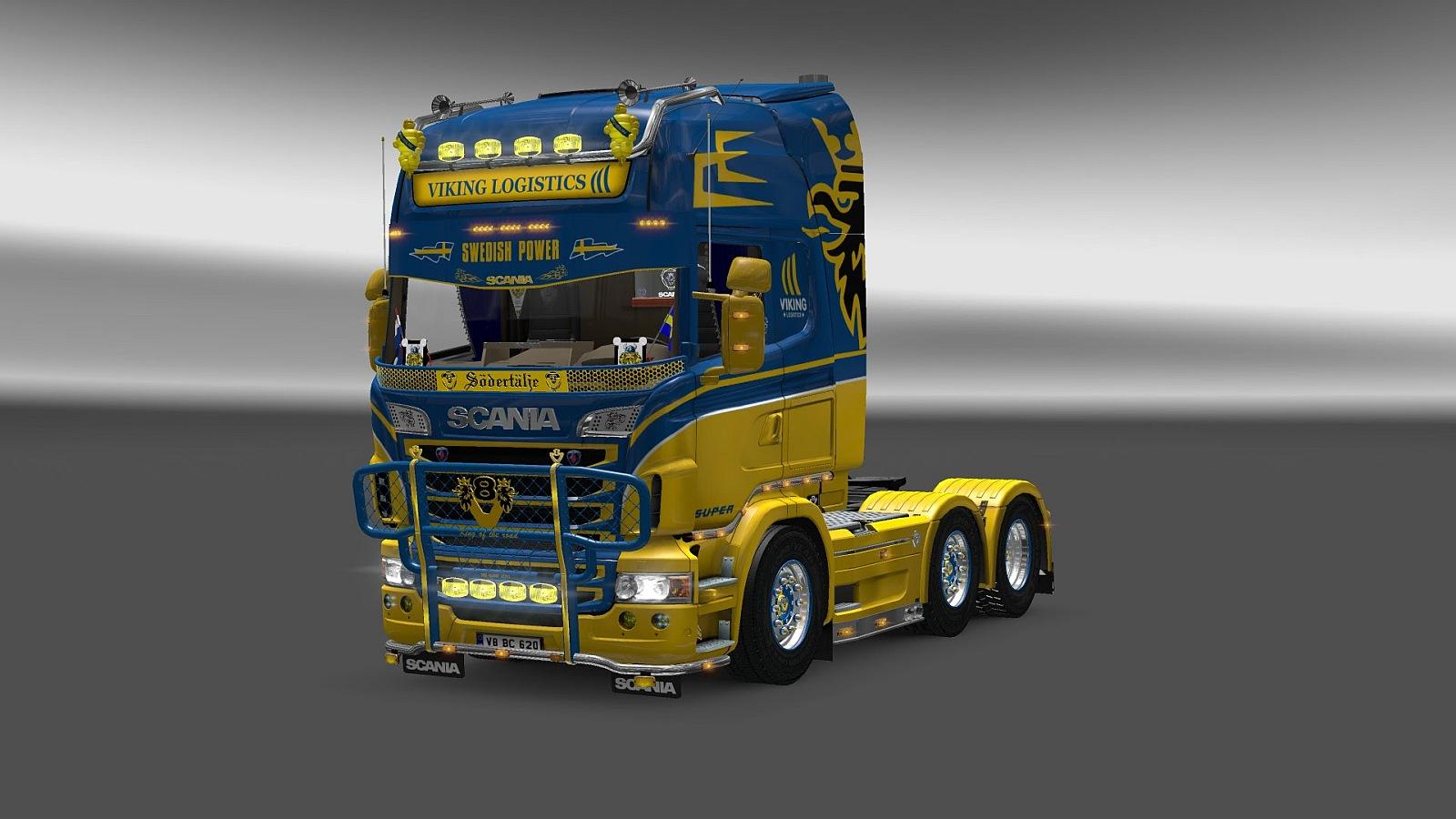 V8K-Blaine Swedish Tuning for Scania Multi Mod