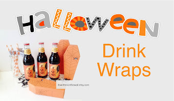 Drinks Wraps for Halloween Beverages