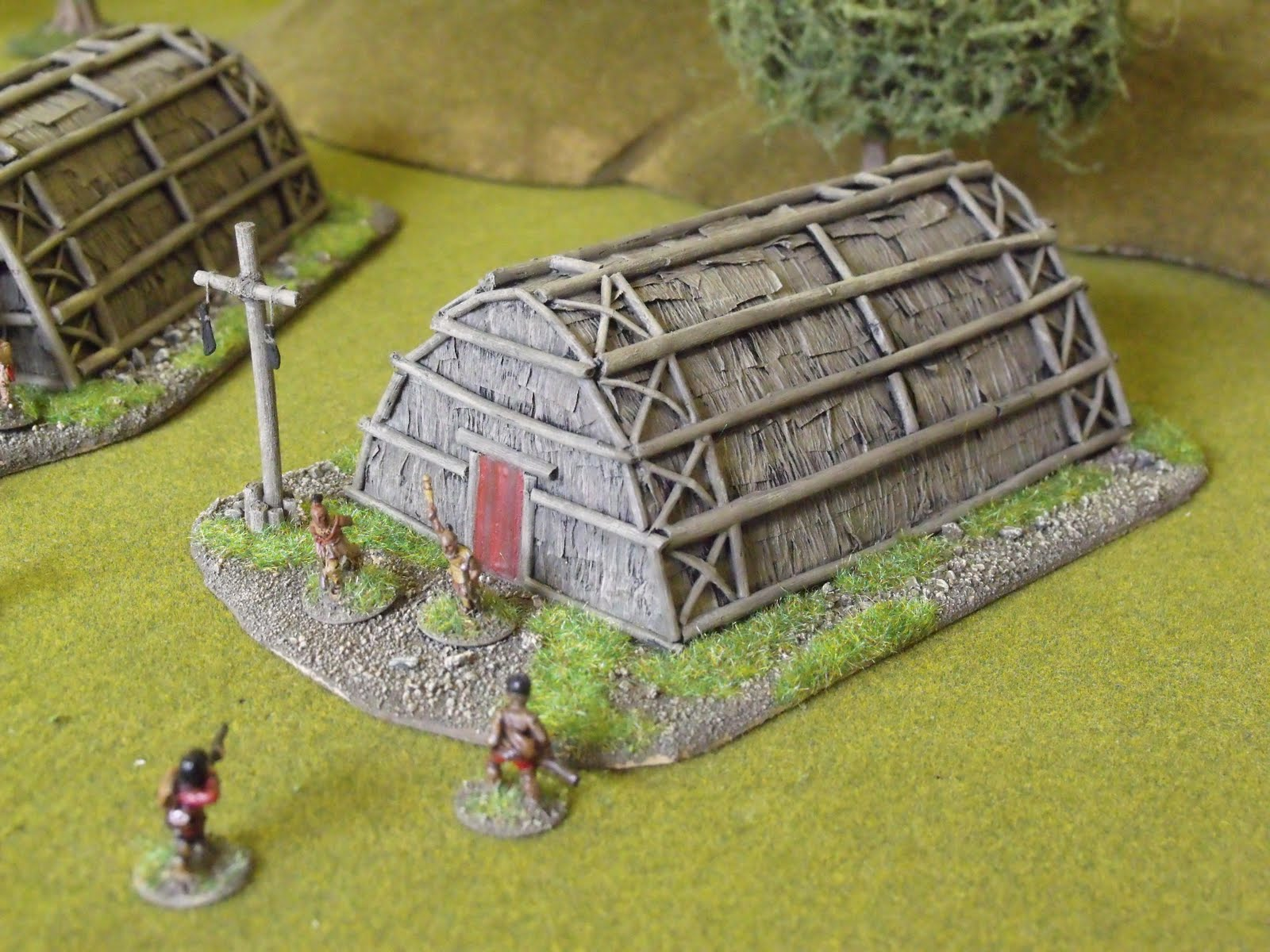 dont throw   scratch built woodland indian longhouses fiw
