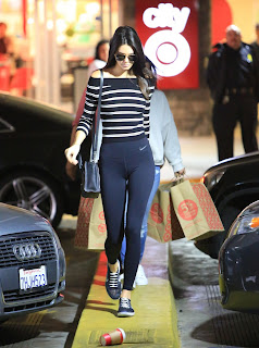 Kendall Jenner – Wearing form fitting Yoga Pants while shopping at Target in Los Angeles