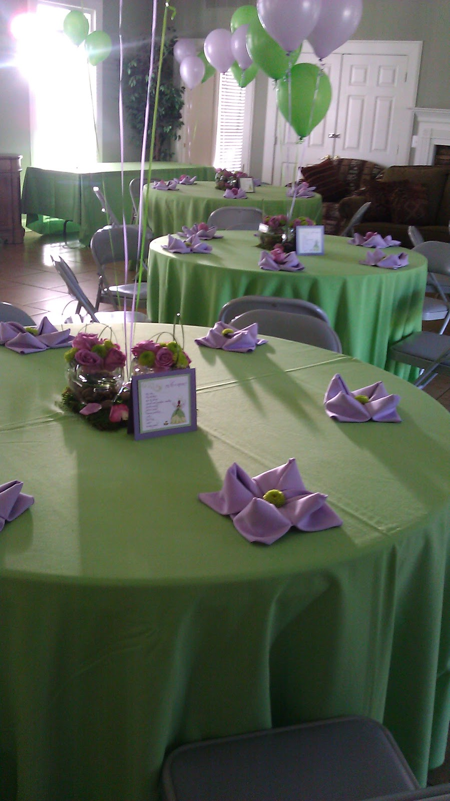 wrapped couture a princess the frog baby shower