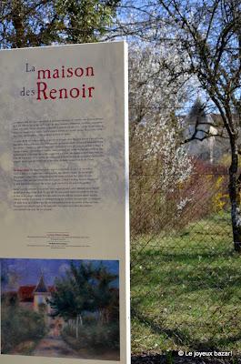 Aube - Essoyes- maison de Renoir