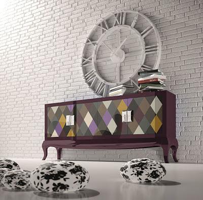 Muebles de colores para un despacho divertido for Muebles despacho baratos