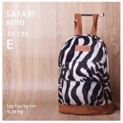 jual online tas ransel mini motif zebra terbaru harga terjangkau