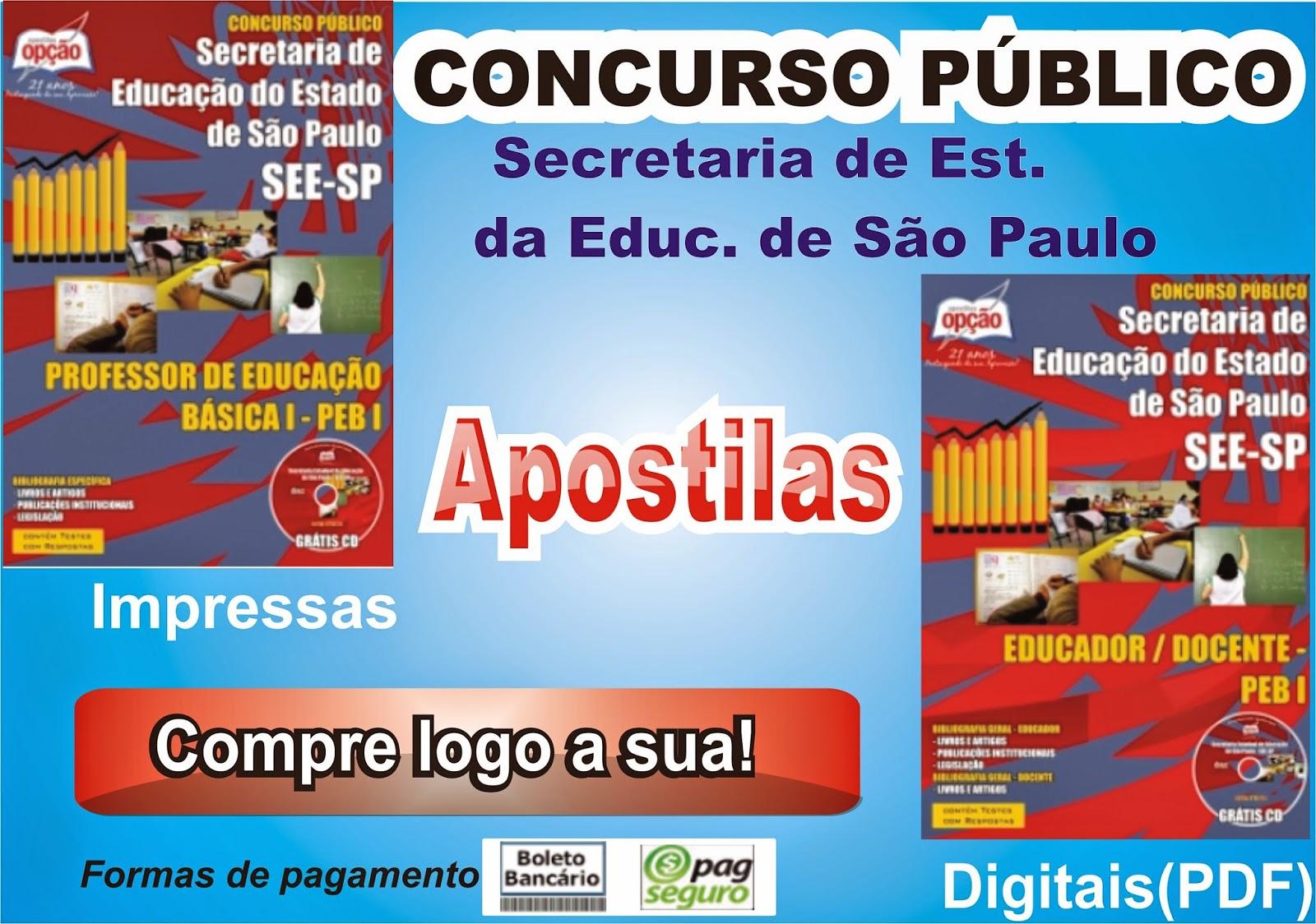 http://www.apostilasopcao.com.br/apostilas/1318/2305/secretaria-de-estado-da-educacao-de-sao-paulo/educador-docente-peb-i.php?afiliado=2561