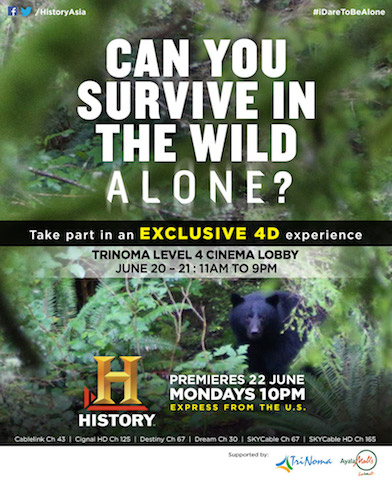 History Channel Alone