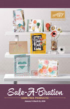 "Stampin"" Up! Sale-a-bration"