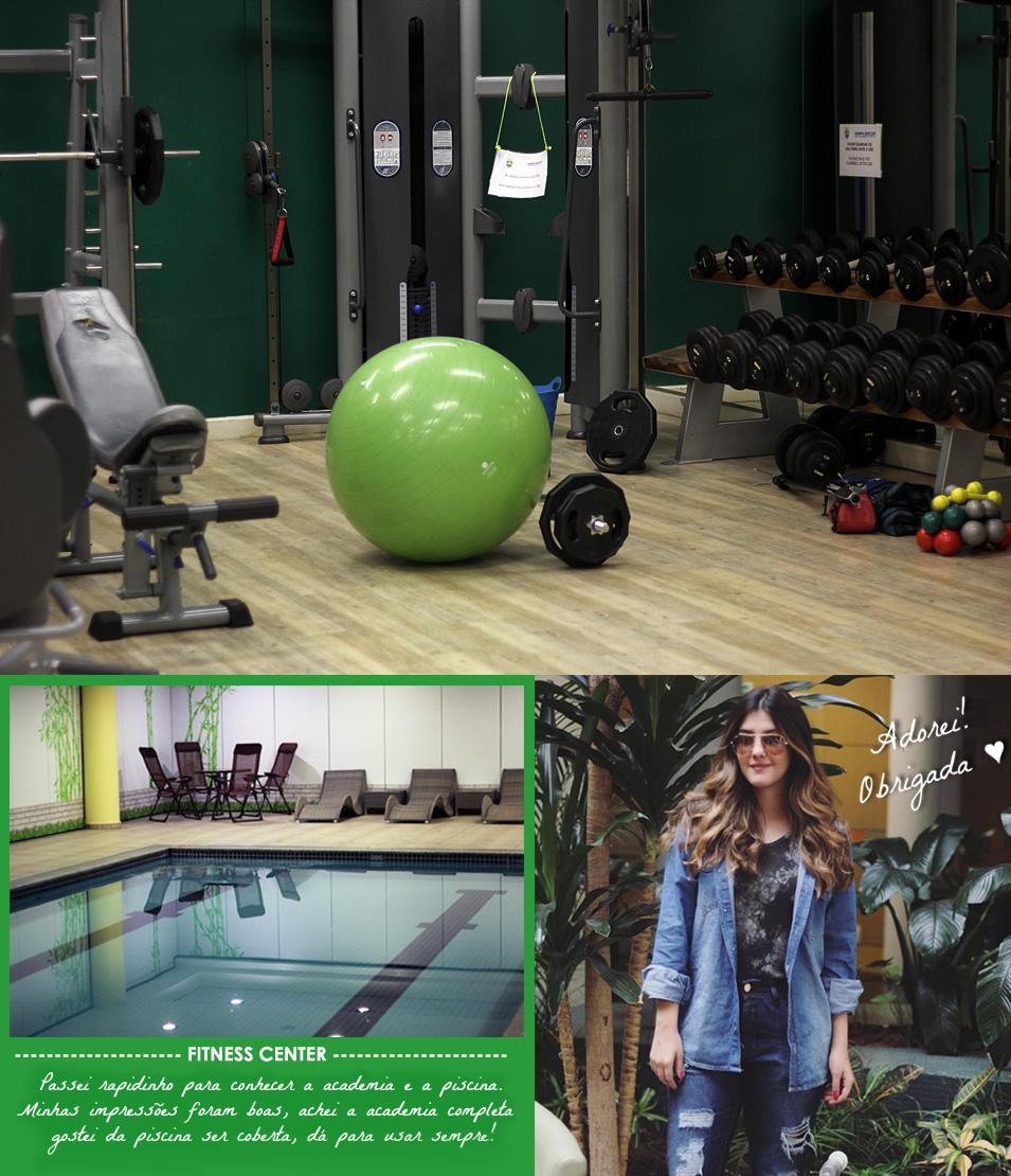 Holiday Inn Parque Anhembi - piscina e academia