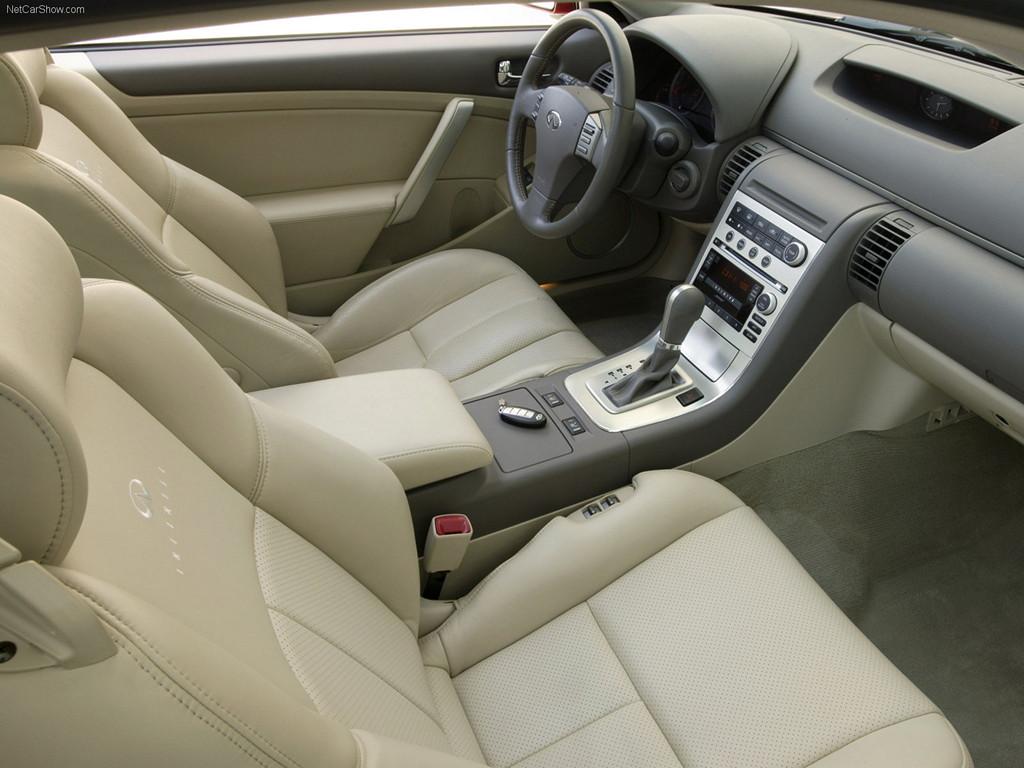 Nissan Skyline CV35, Infiniti G35 coupe, japońskie sportowe coupe, V6, RWD, wnętrze