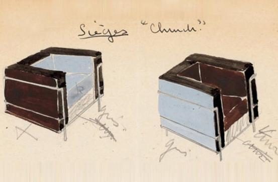 Los Muebles de Le Corbusier  Blog Arquitectura y Diseño