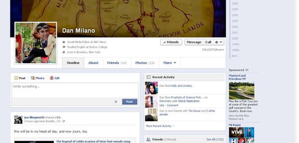 facebook 2013 news timeline