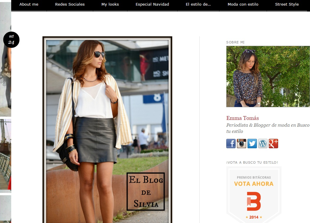 Busco tu estilo analiza el look de el blog de silvia