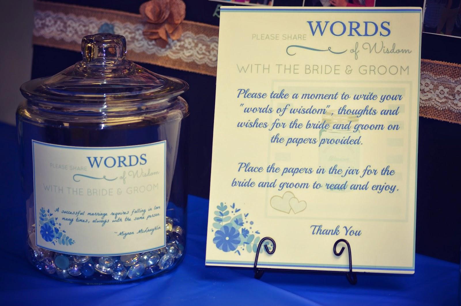 Graduation Memory Jar memory jars for a bridal shower with printables ...