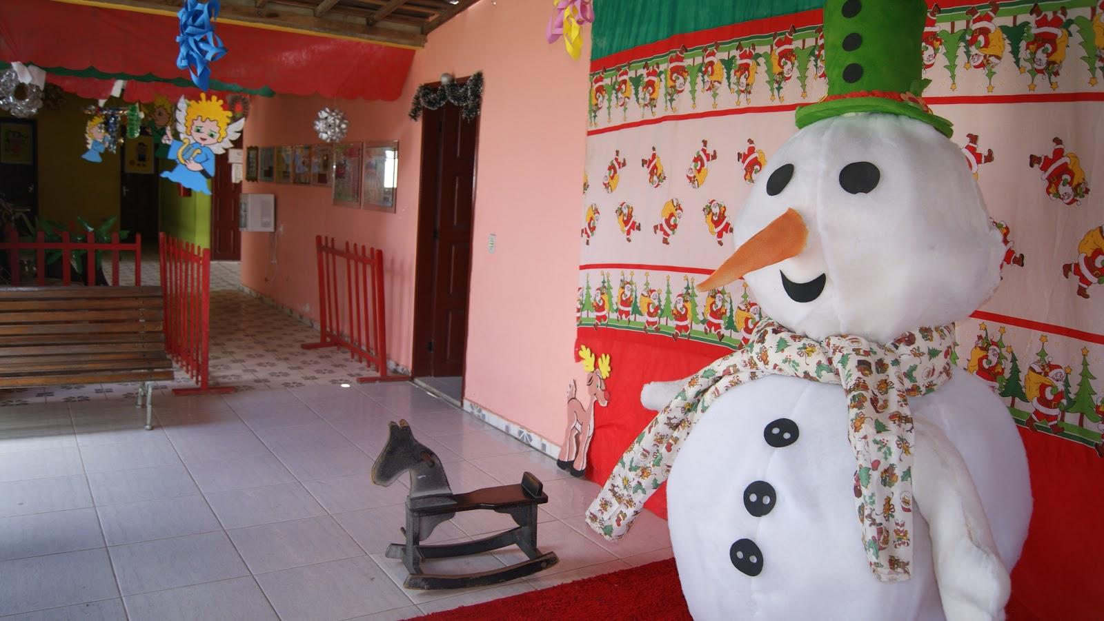 decoracao natalina para ambientes pequenos:Ideal Colégio e Curso: Decoração Natalina- Educação Infantil