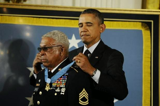 24 soldiers receive Medal of Honor in 'historic' event