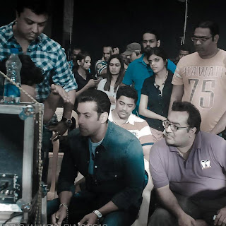 Behind Scenes Pics: Salman in Thums-up ad shoot