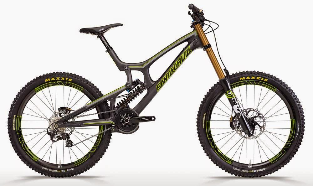 jenis sepeda gunung MTB downhill