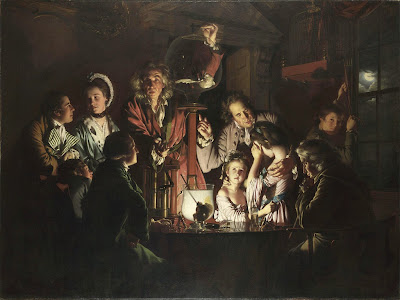 http://en.wikipedia.org/wiki/An_Experiment_on_a_Bird_in_the_Air_Pump#/media/File:An_Experiment_on_a_Bird_in_an_Air_Pump_by_Joseph_Wright_of_Derby,_1768.jpg