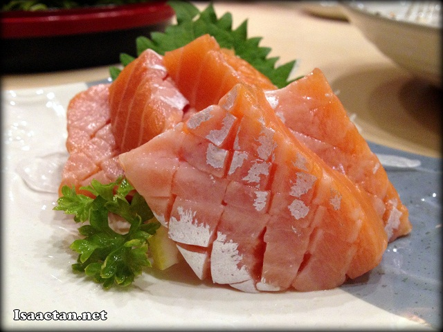 Raw Salmon for the salmon lovers
