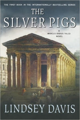 lindsey davis, the silver pigs, book review