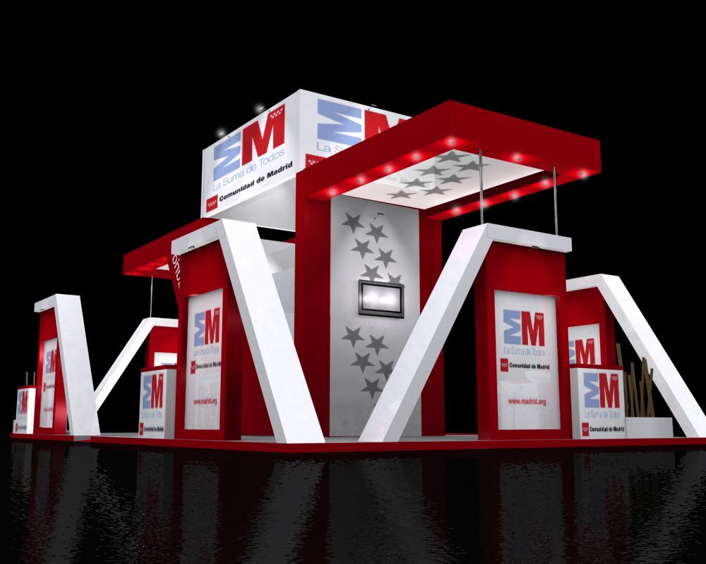 Am dise o de interiores y arquitectura efimera stand - Arquitectura de interiores madrid ...