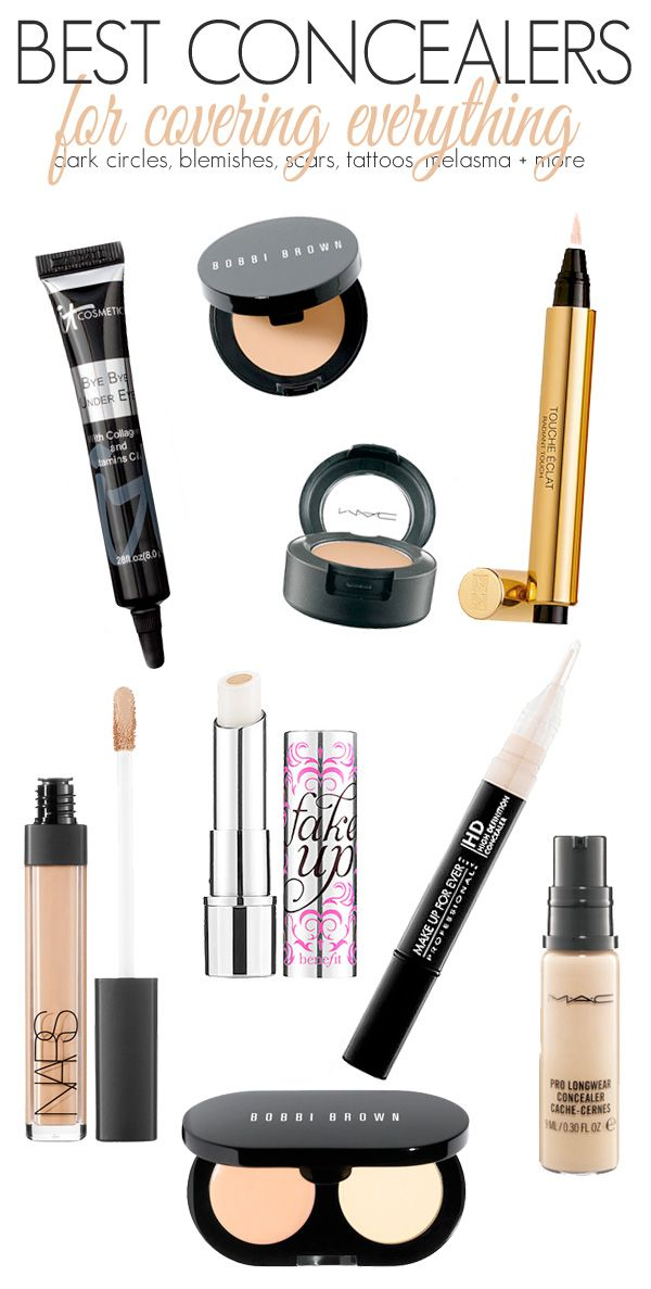 The Best Concealers to Cover Anything
