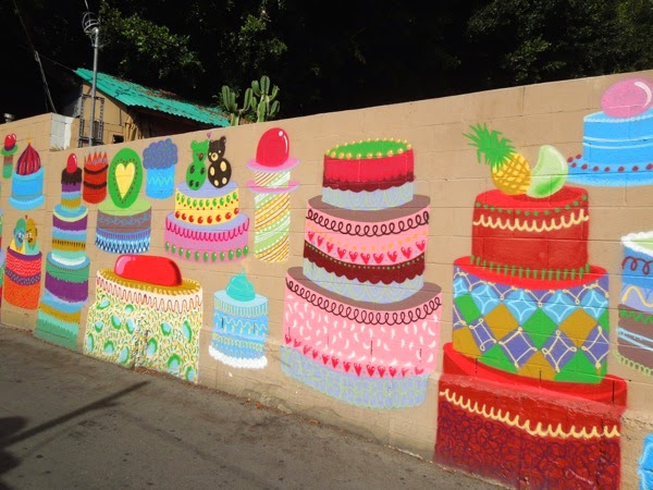 50 wedding cakes of gay street art mural
