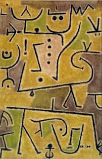 Paul Klee painting - Rote Weste
