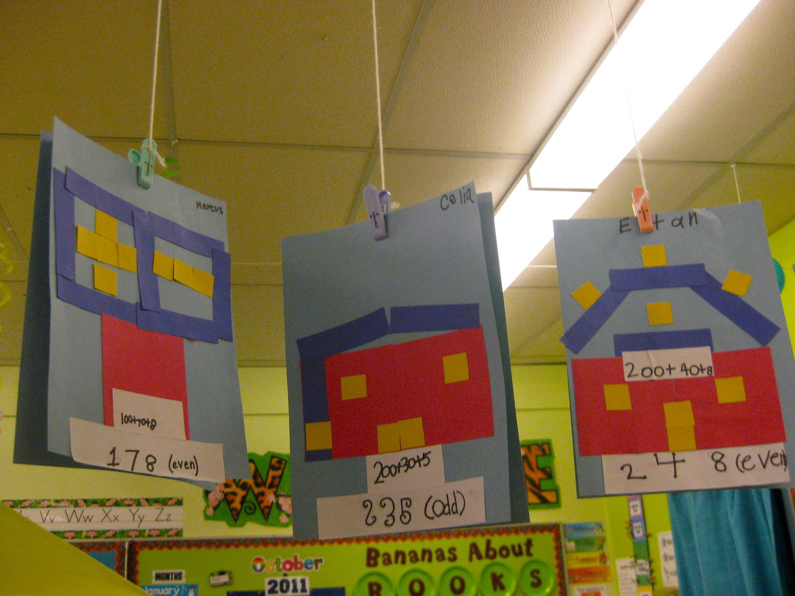 Place Value Houses Primary Teaching Resources