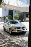2011 Mercedes-Benz M-Class exterior (W 166)