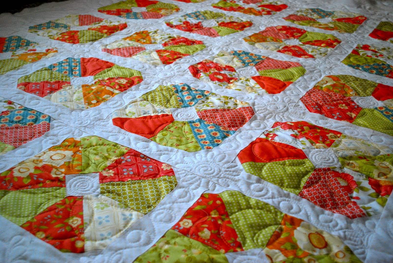 Quilting Designs Sashing : lovely rita: Flower posts and sashing {Machine Quilting}
