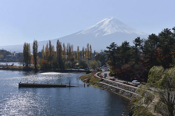 Fujigoko Lago Kawaguchiko (japan-guide.com)
