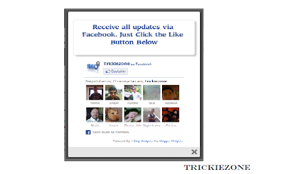 How To Add One Time Facebook Like Pop-Up Box In Blogger Blogspot
