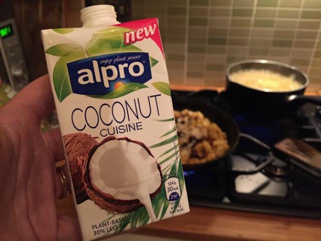 Alpro coconut cuisine