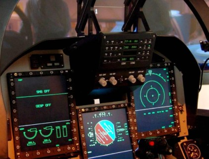 Simulator Of JF-17 Thunder Of Pakistan Airforce (PAF)