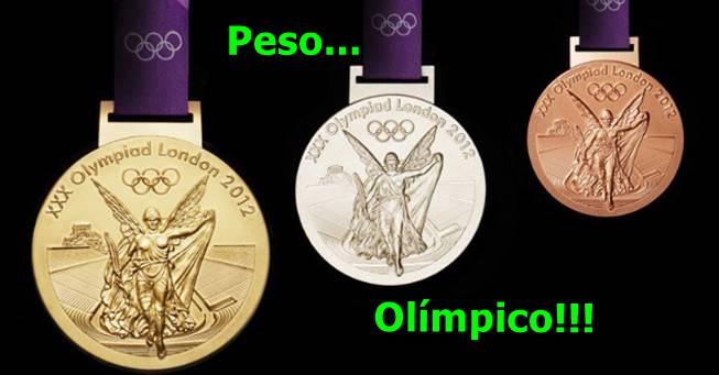 Olimpíada do peso!