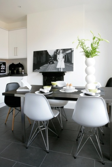 Ma maison blanche eames plastic side chair dsr for Vitra eames kopie