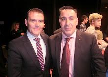 Con el director general de Deportes en Castilla-La Mancha