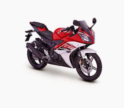 Yamaha R15 Motor Sport Racing dan Kencang Merah