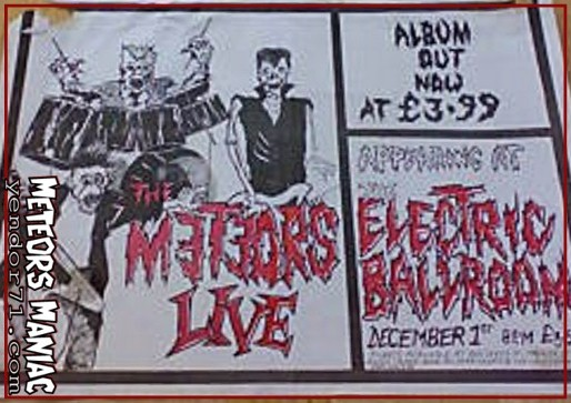 The Meteors - Live - 1983