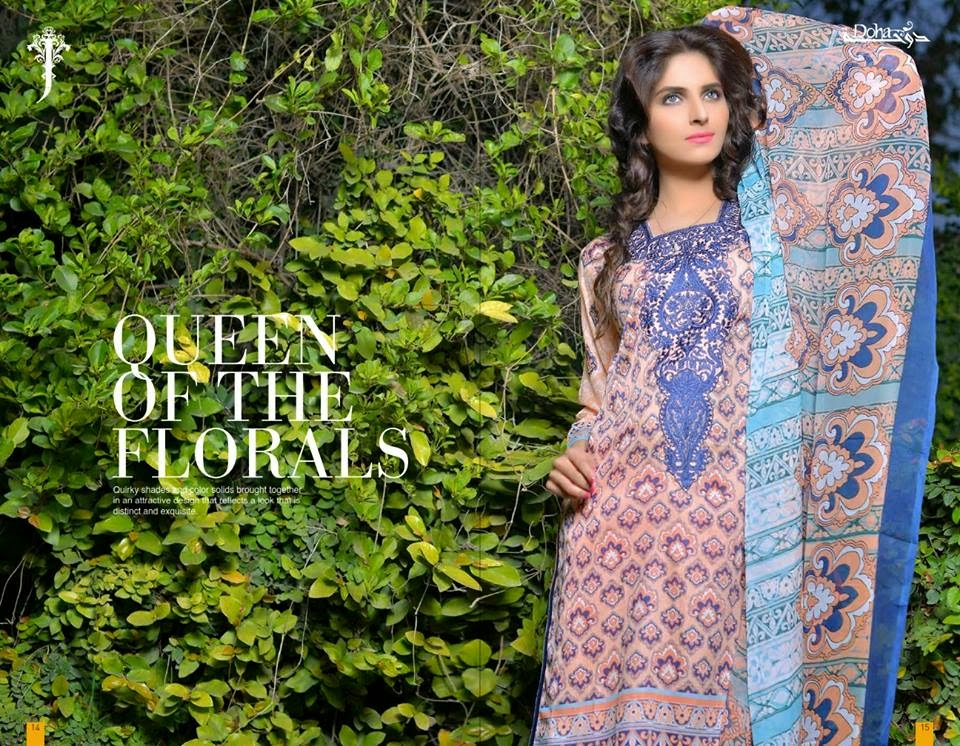 Pakistani lawn kurti suits 2015
