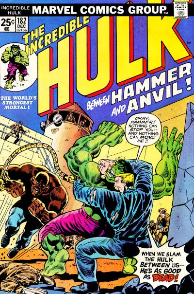 Incredible Hulk #182, Hammer and Anvil