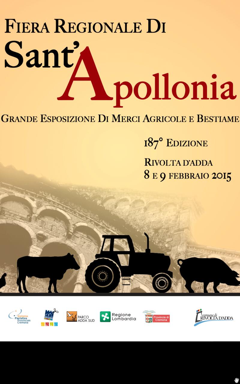 fiera di Sant'Apollonia Rivolta d'Adda 2015