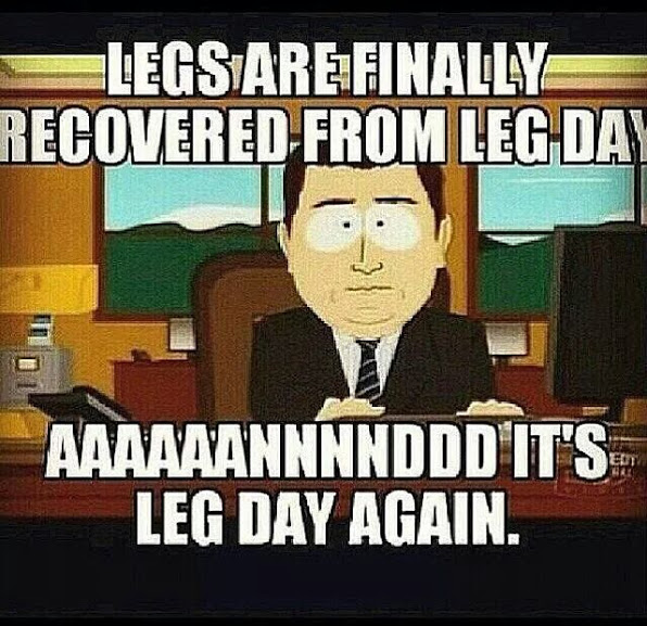 Its Leg Day Meme It's Leg Day again! ~ ...